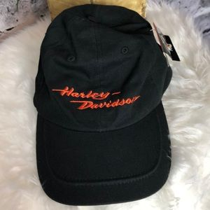 Vintage Harley Davidson Tie back Hat.